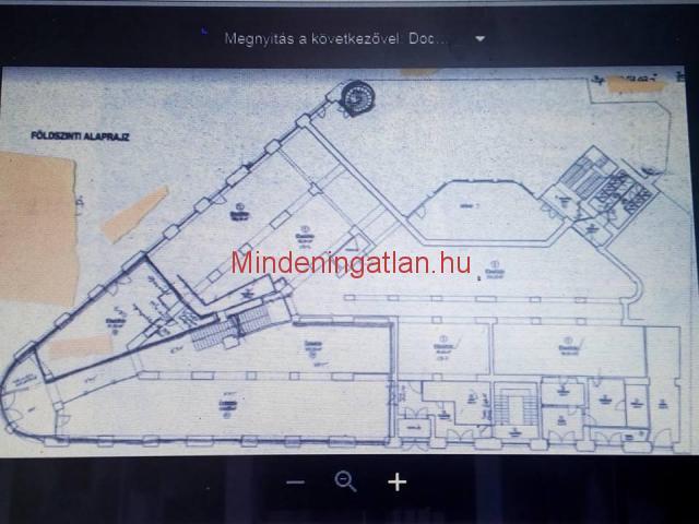 VI.ker. Bajcsy Zsilinszky úton 4500m2-es sarok épület eladó