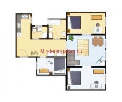 Kiadó 3 szobás lakás