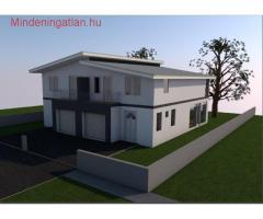 XVIII.kerületben Újépítésű 114m2-es ÖKO ikerház garázzsal együtt eladó